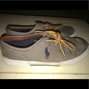 Gray Polo Lace up Shoes Size 11